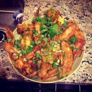 Adi's Jazz Kitchen: Adi's Coconut Curry Wings