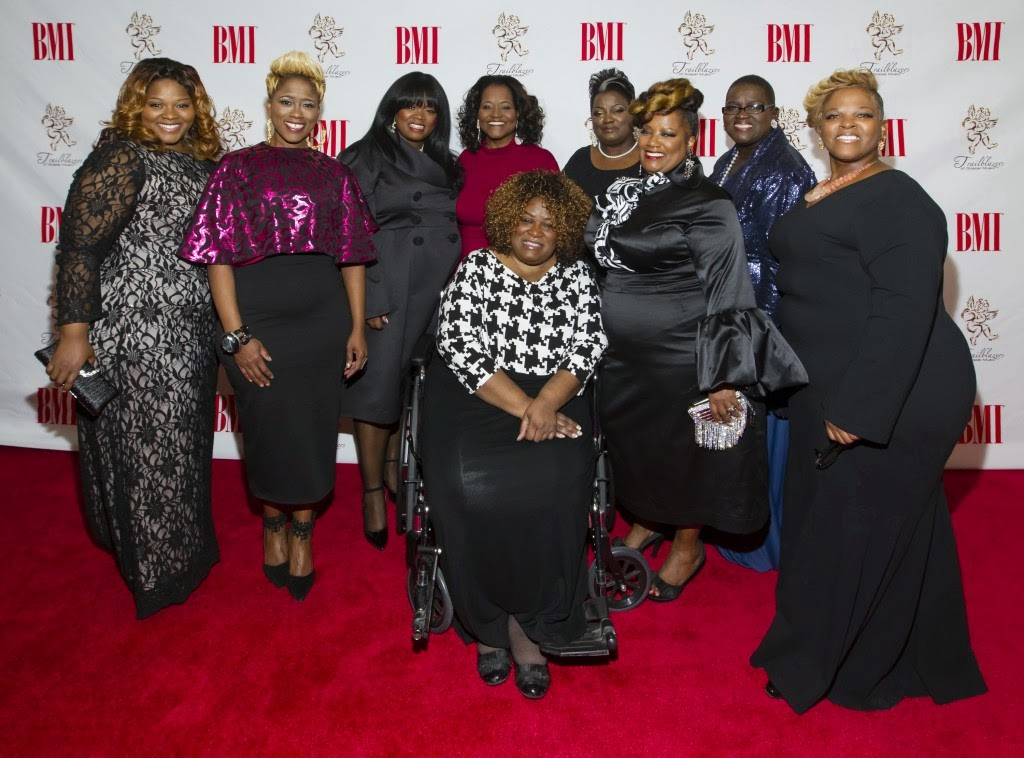 LaShun Pace, honored at BMI Trailblazers of Gospel Awards ...